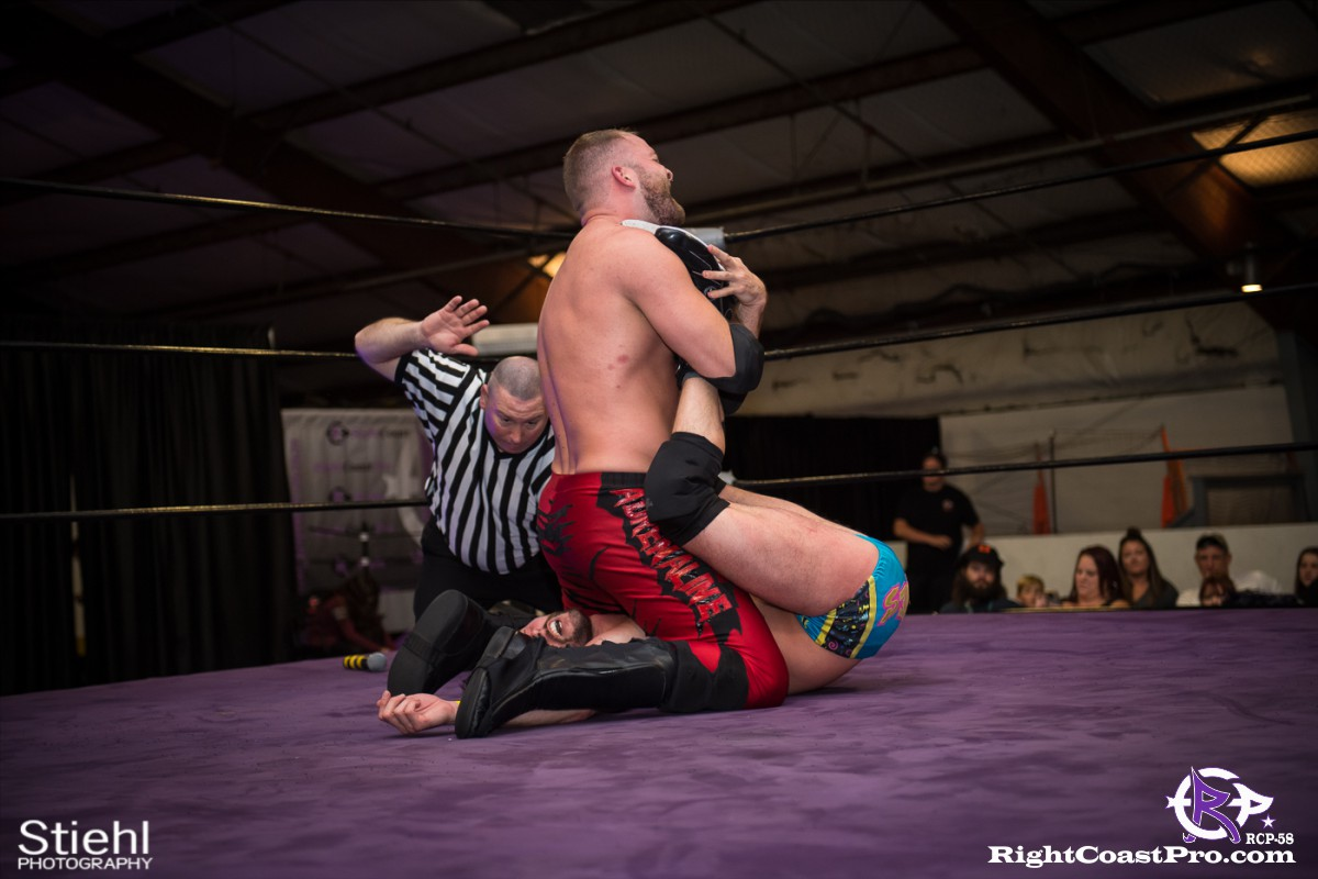 RCP58 31 heavyweight championship Homecoming RightCoastProWrestlingDelaware