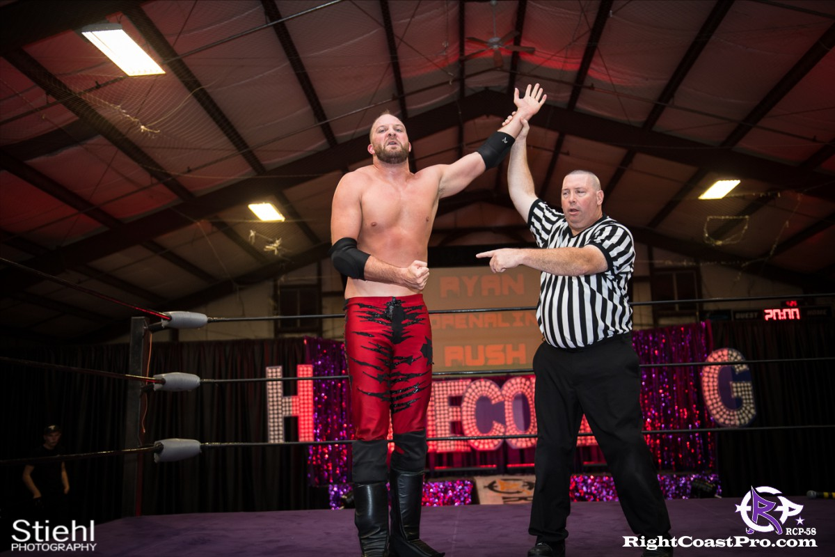 RCP58 32 heavyweight championship Homecoming RightCoastProWrestlingDelaware