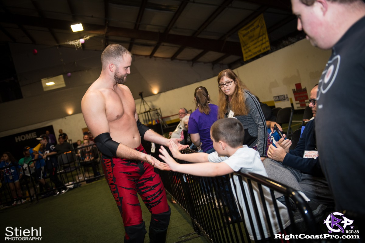 RCP58 6 heavyweight championship Homecoming RightCoastProWrestlingDelaware