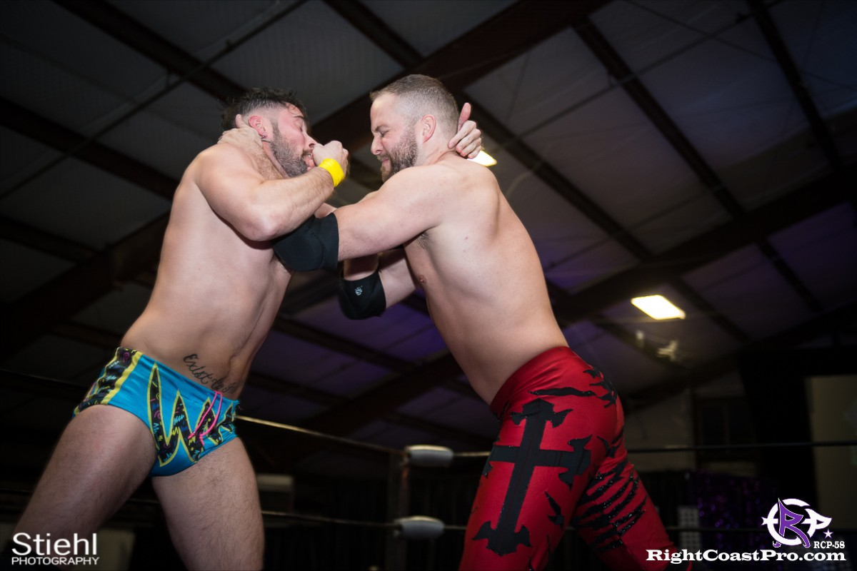 RCP58 8 heavyweight championship Homecoming RightCoastProWrestlingDelaware