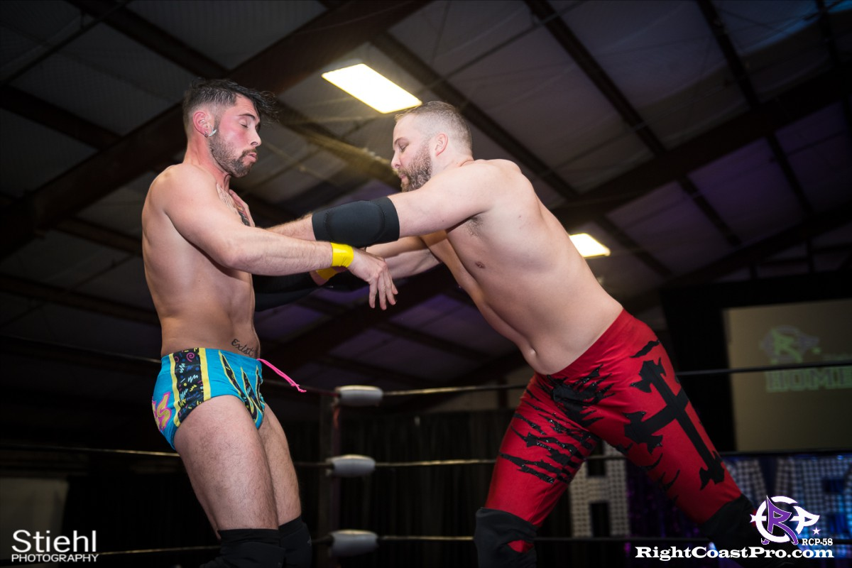 RCP58 9 heavyweight championship Homecoming RightCoastProWrestlingDelaware