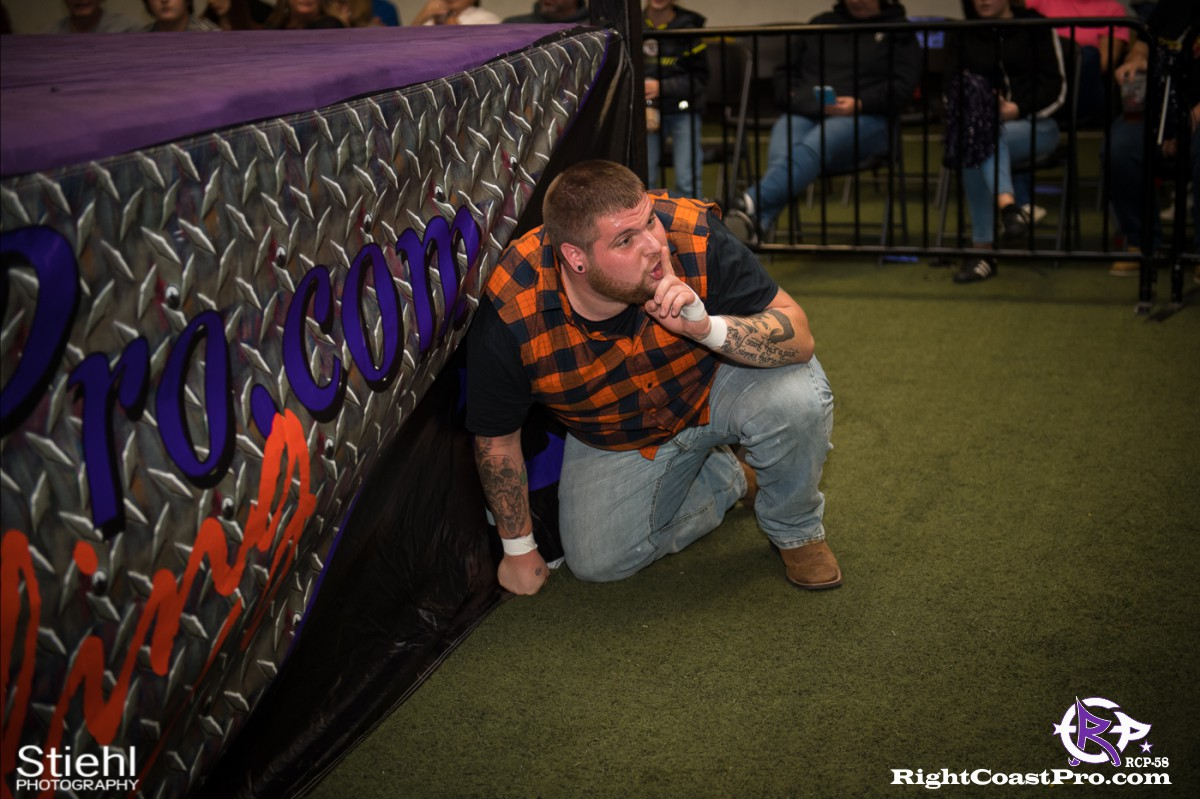 RCP58 11 BOOTCAMP Homecoming RightCoastProWrestlingDelaware