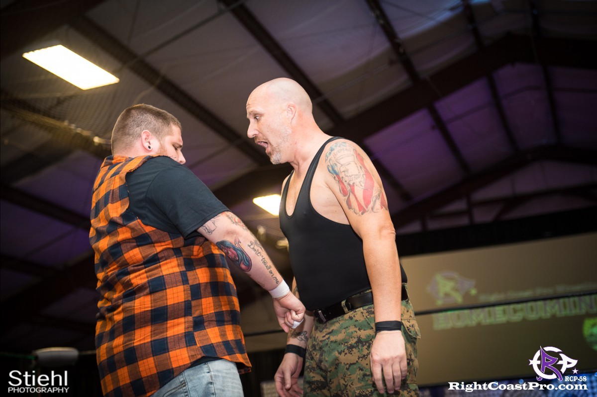 RCP58 6 BOOTCAMP Homecoming RightCoastProWrestlingDelaware