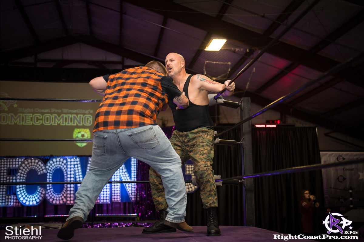 RCP58 7 BOOTCAMP Homecoming RightCoastProWrestlingDelaware