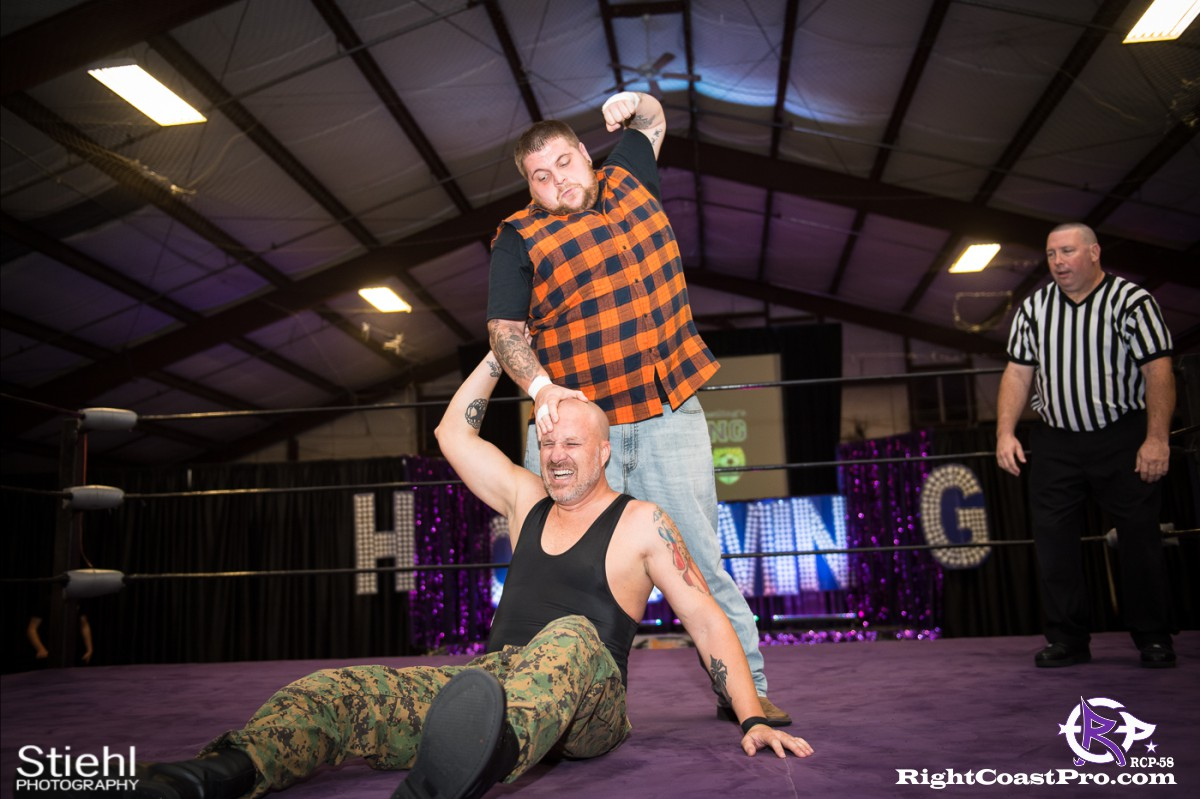 RCP58 8 BOOTCAMP Homecoming RightCoastProWrestlingDelaware
