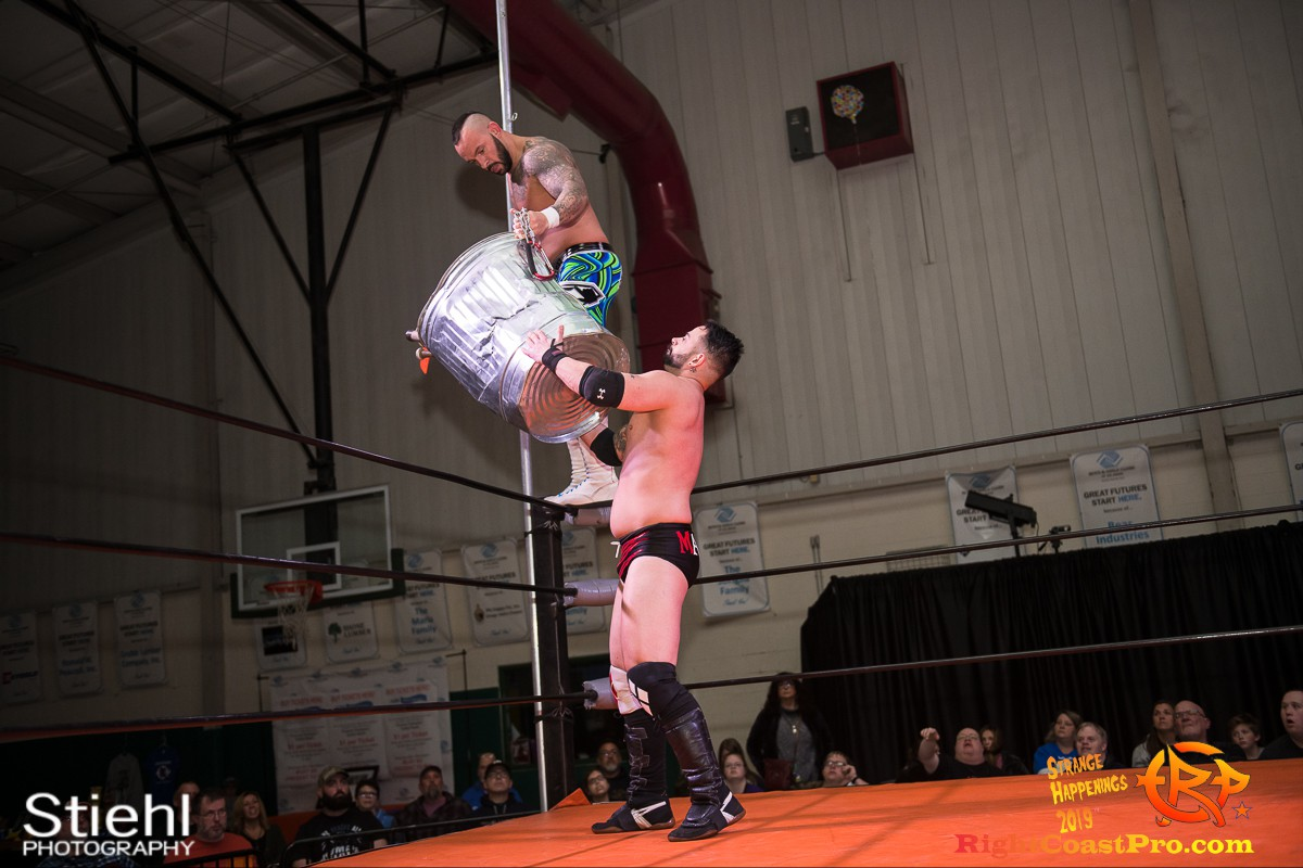 RCP59 22 OlympusChampionship StrangeHappenings RightCoast Pro Wrestling Delaware