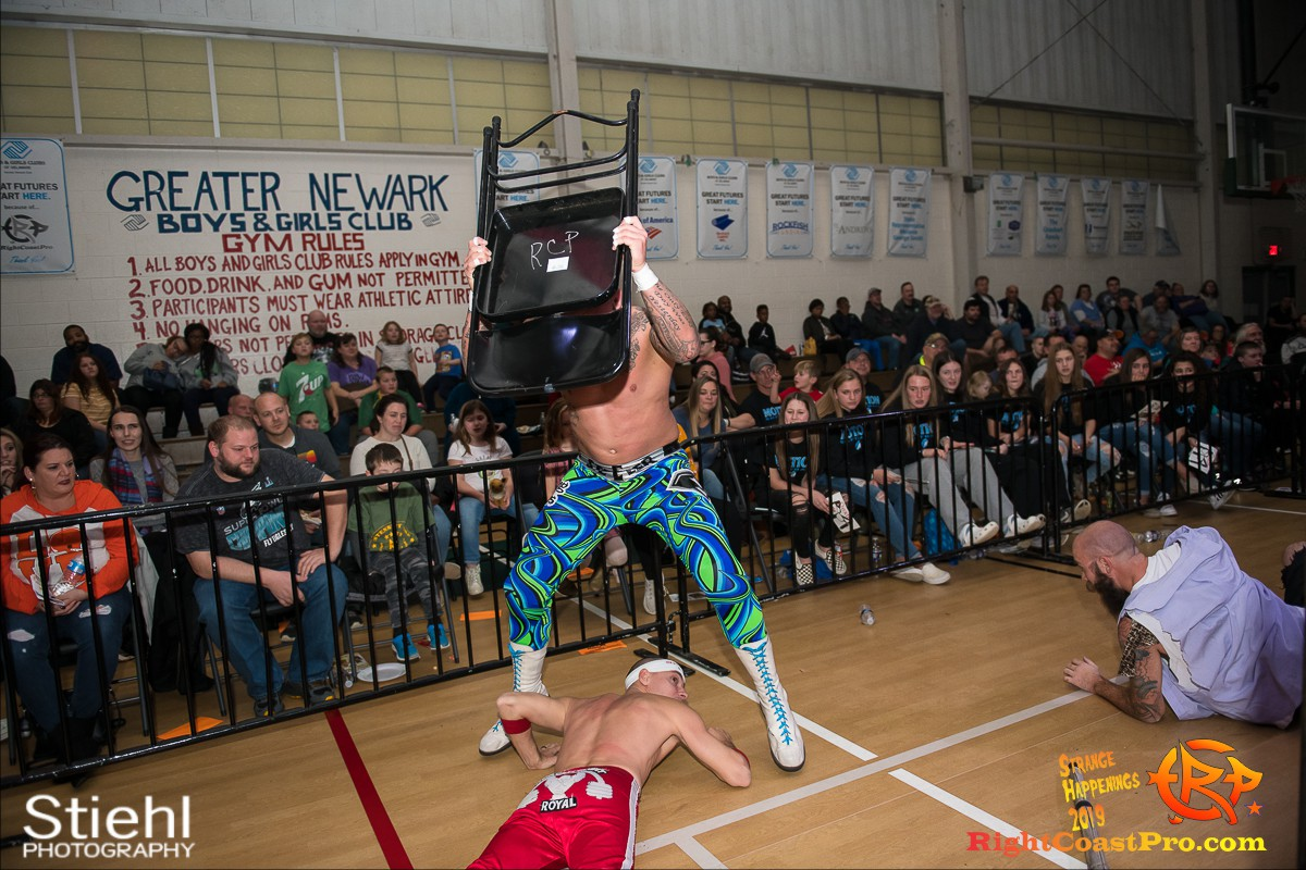 RCP59 42 OlympusChampionship StrangeHappenings RightCoast Pro Wrestling Delaware