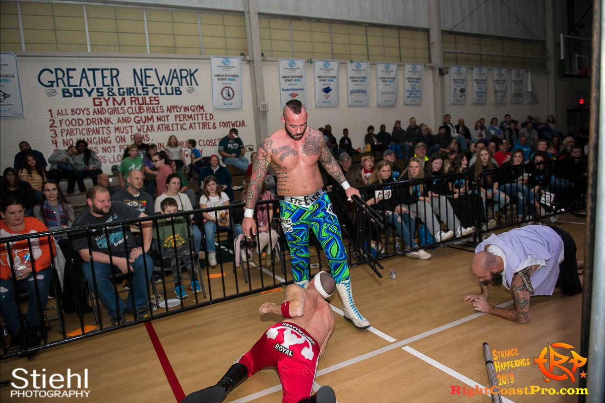 RCP59 47 OlympusChampionship StrangeHappenings RightCoast Pro Wrestling Delaware