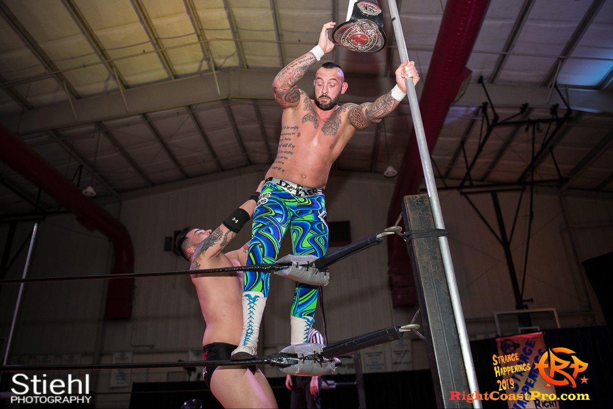 RCP59 50 OlympusChampionship StrangeHappenings RightCoast Pro Wrestling Delaware