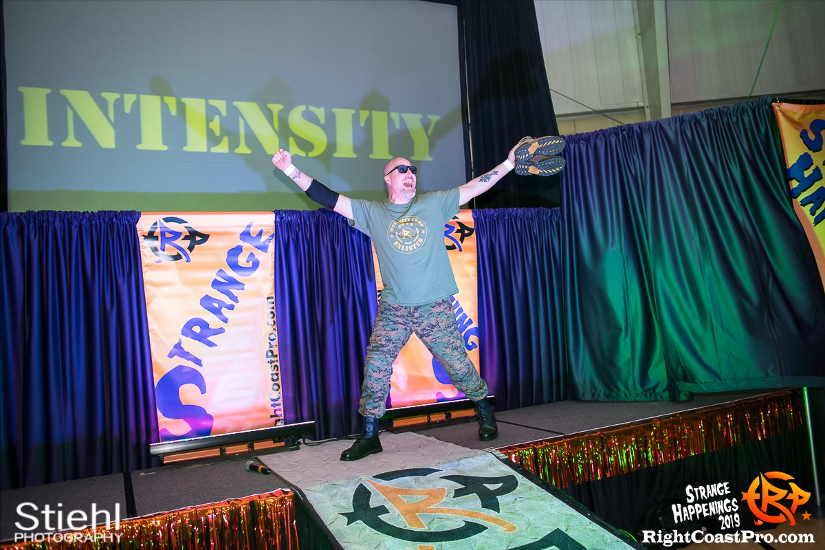 RCP59 2 Sarge God StrangeHappenings RightCoastPro Wrestling Delaware