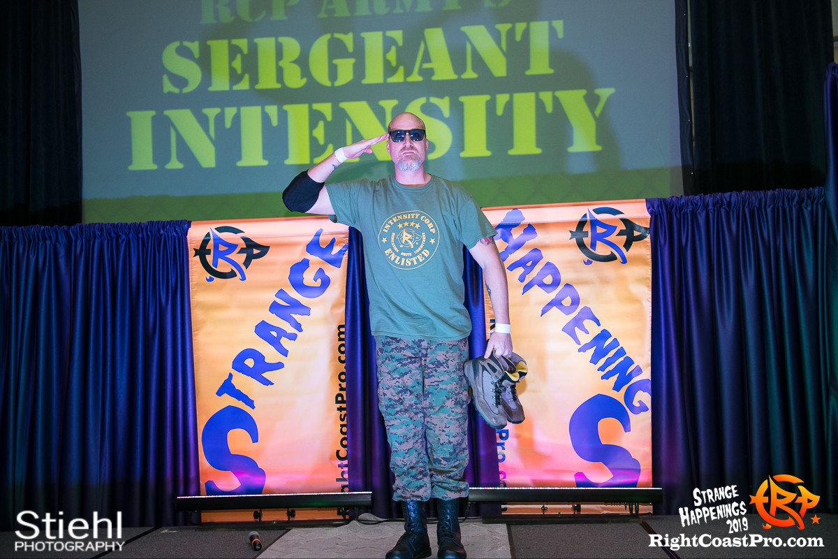 RCP59 3 Sarge God StrangeHappenings RightCoastPro Wrestling Delaware