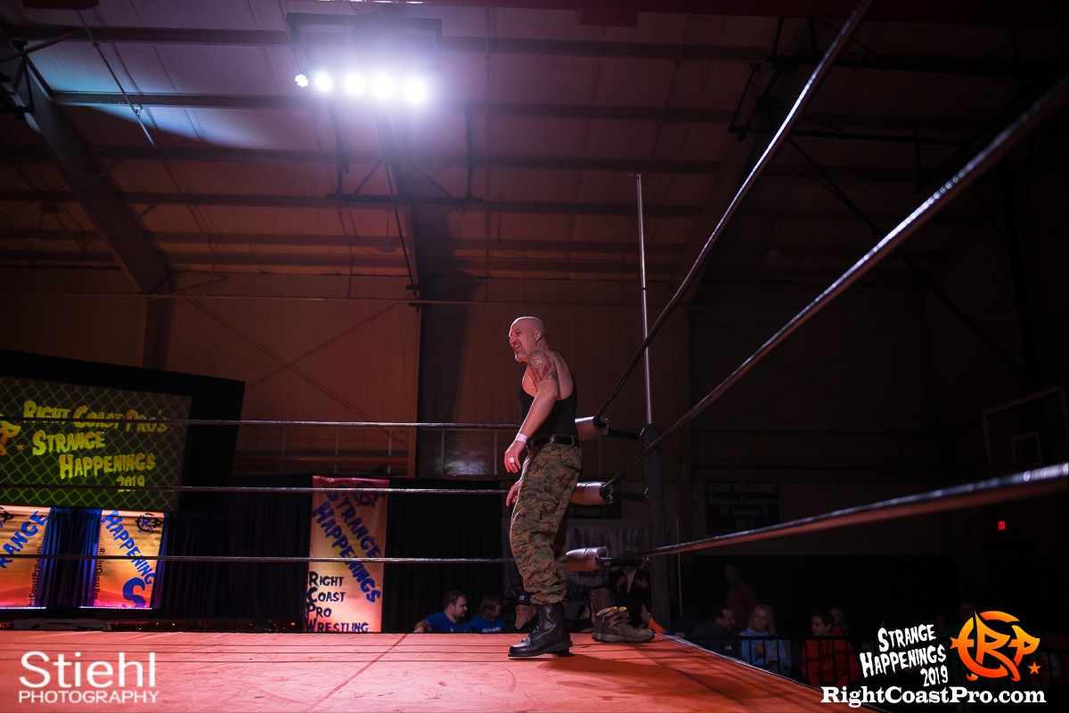 RCP59 4 Sarge God StrangeHappenings RightCoastPro Wrestling Delaware