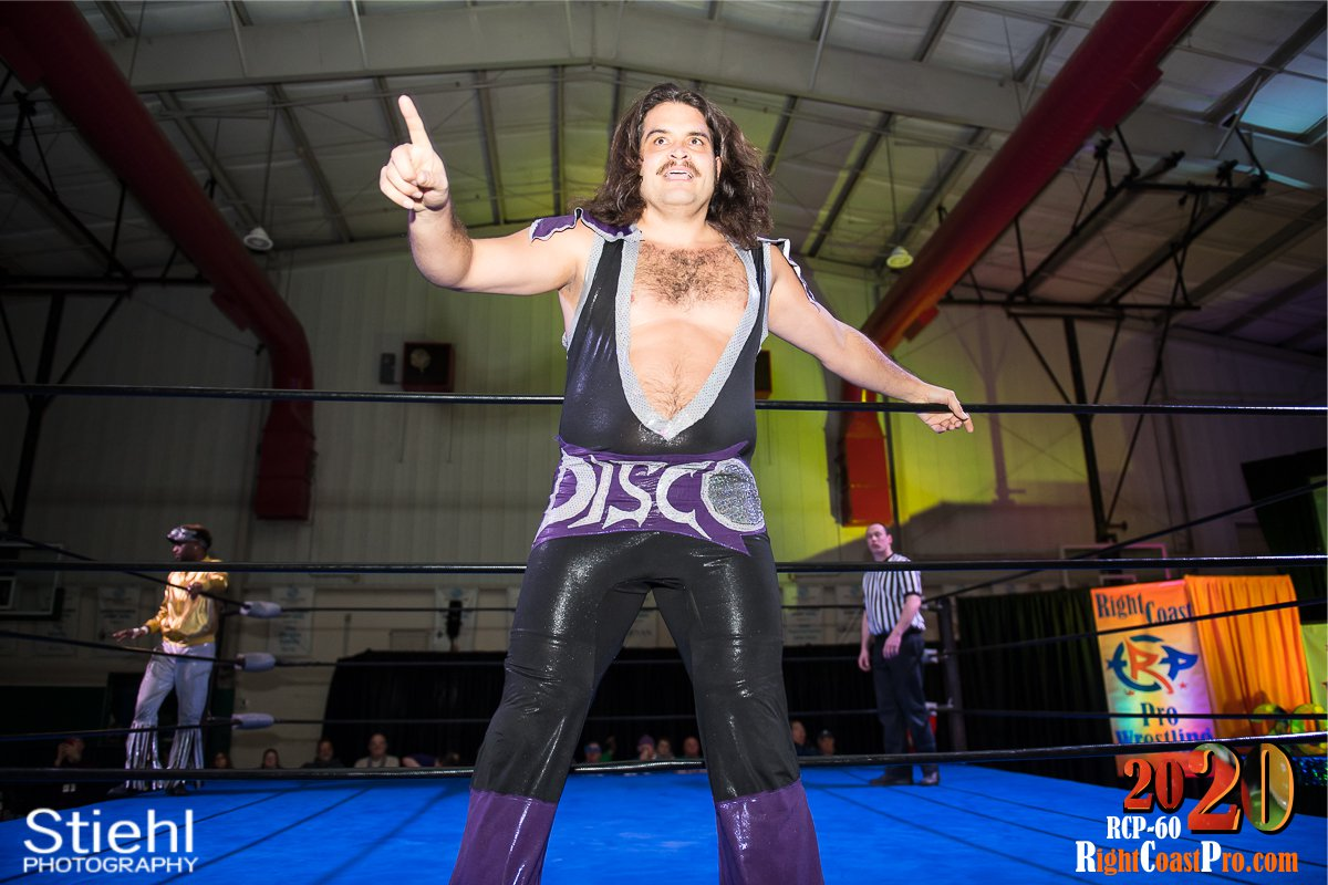 RCP60 4 DiscoProfit RightCoast ProWrestling Delaware