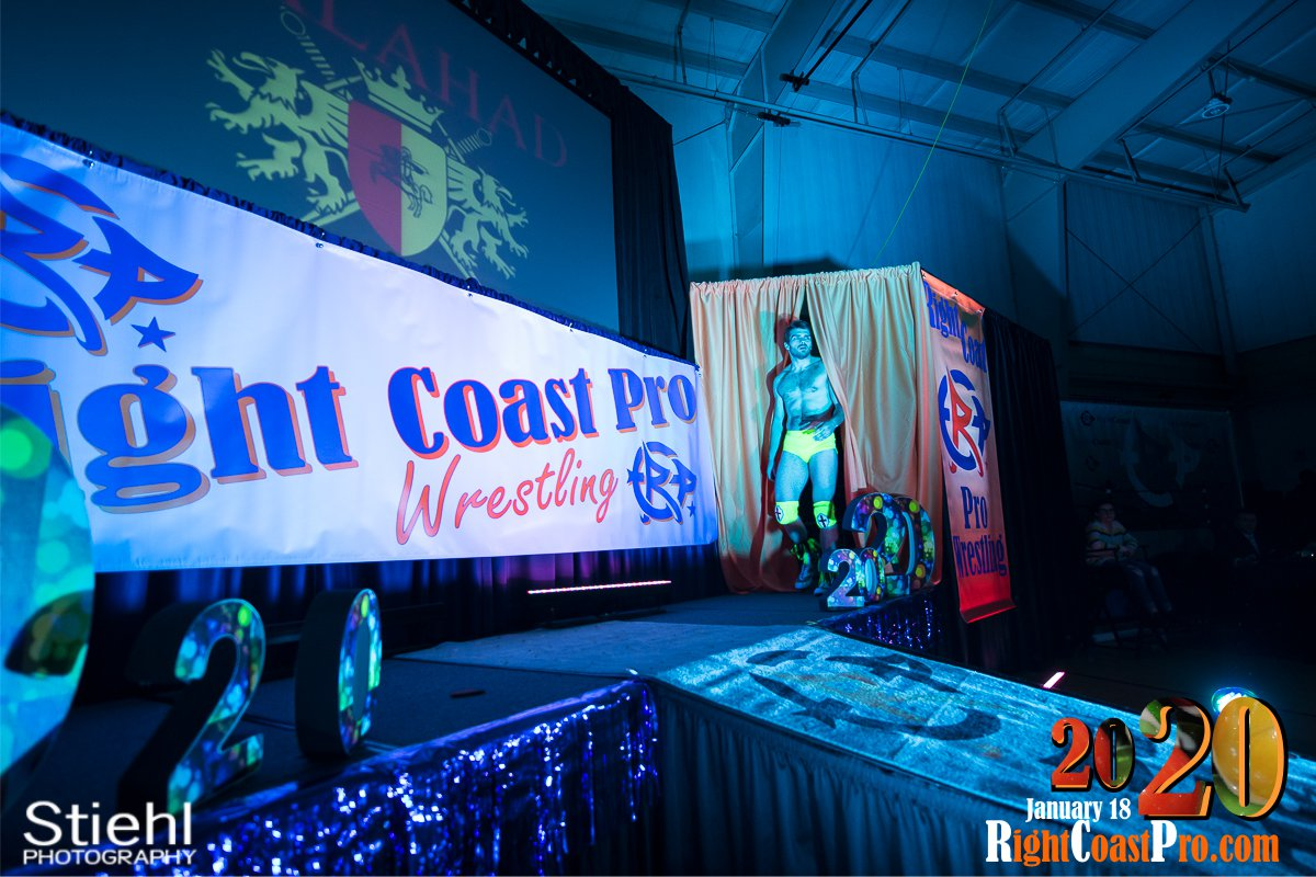 RCP60 1 Royal Galahad RightCoast ProWrestling Delaware