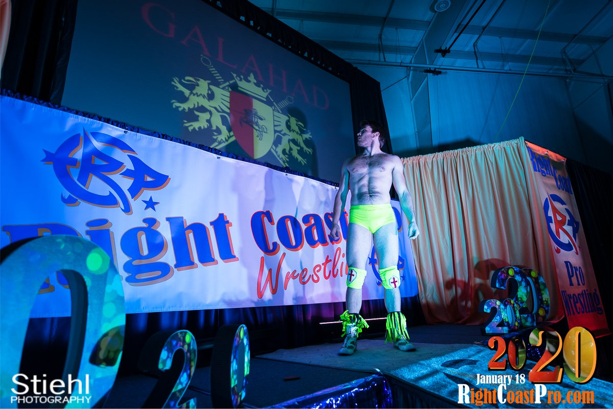 RCP60 2 Royal Galahad RightCoast ProWrestling Delaware