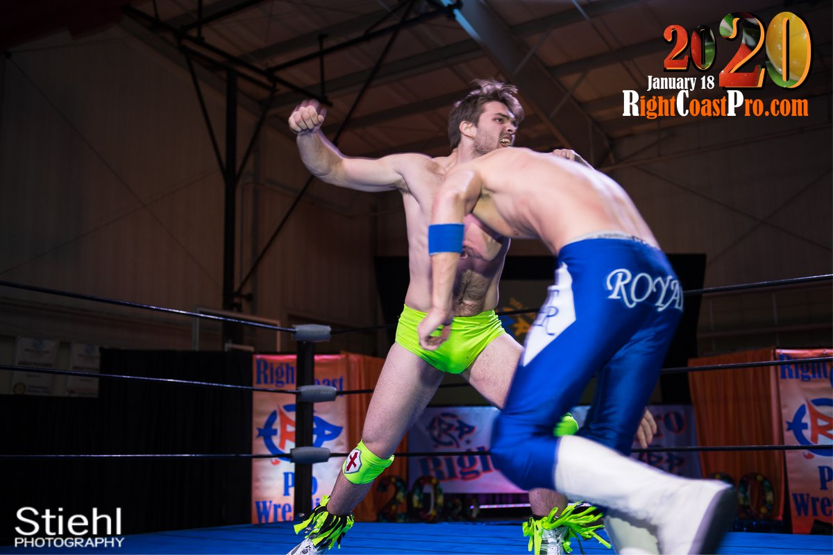 RCP60 24 Royal Galahad RightCoast ProWrestling Delaware