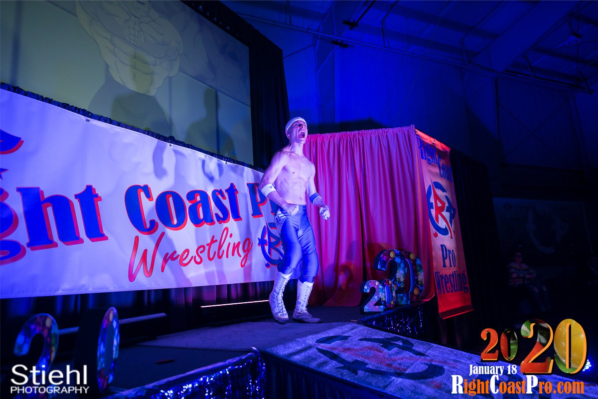RCP60 3 Royal Galahad RightCoast ProWrestling Delaware