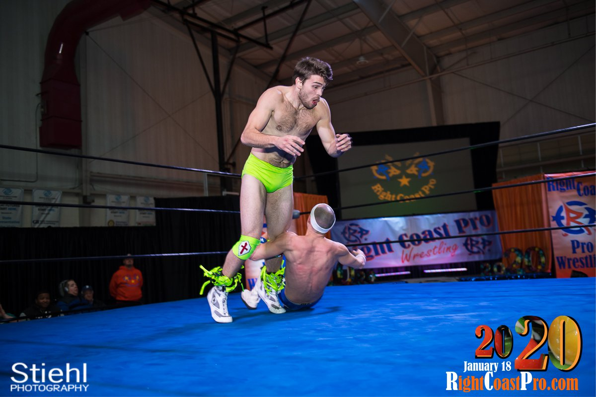 RCP60 34 Royal Galahad RightCoast ProWrestling Delaware