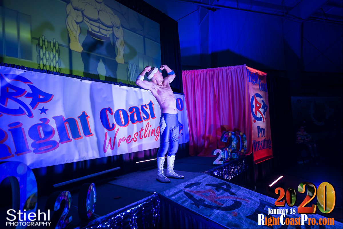 RCP60 4 Royal Galahad RightCoast ProWrestling Delaware