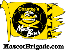 Flag 265 MascotBrigade Coastee Playground Sports Delaware