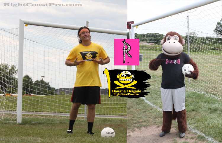 Coastee Banana Brigade Soccer Delaware Renegade Training RightCoastPro
