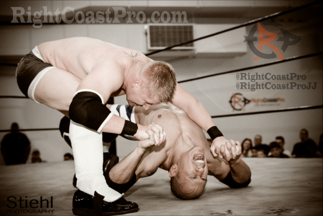 Bax Combative Sports Survival DMC RightCoastPro Wrestling Delaware