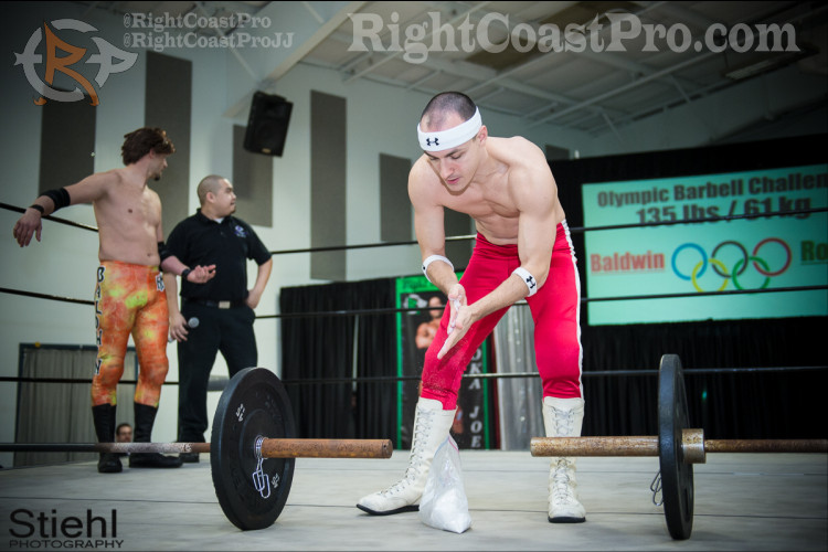 Olympic lifts RightCoastPro Delaware Entertainment Sports Events