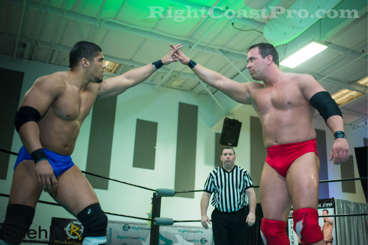 Bowens Chest 1 RCP22 RightCoastPro Wrestling Delaware Festivus2015 Event
