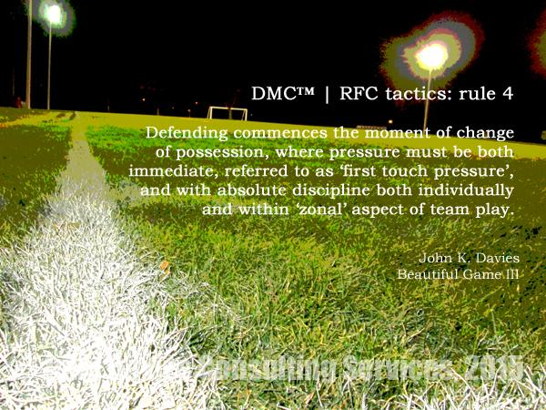 Tactics Rule4 RightCoastPro Soccer Delaware