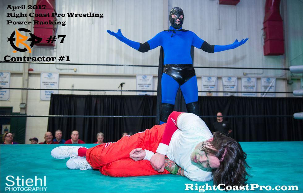 Contractor 7 April Delaware Prowrestling ranking