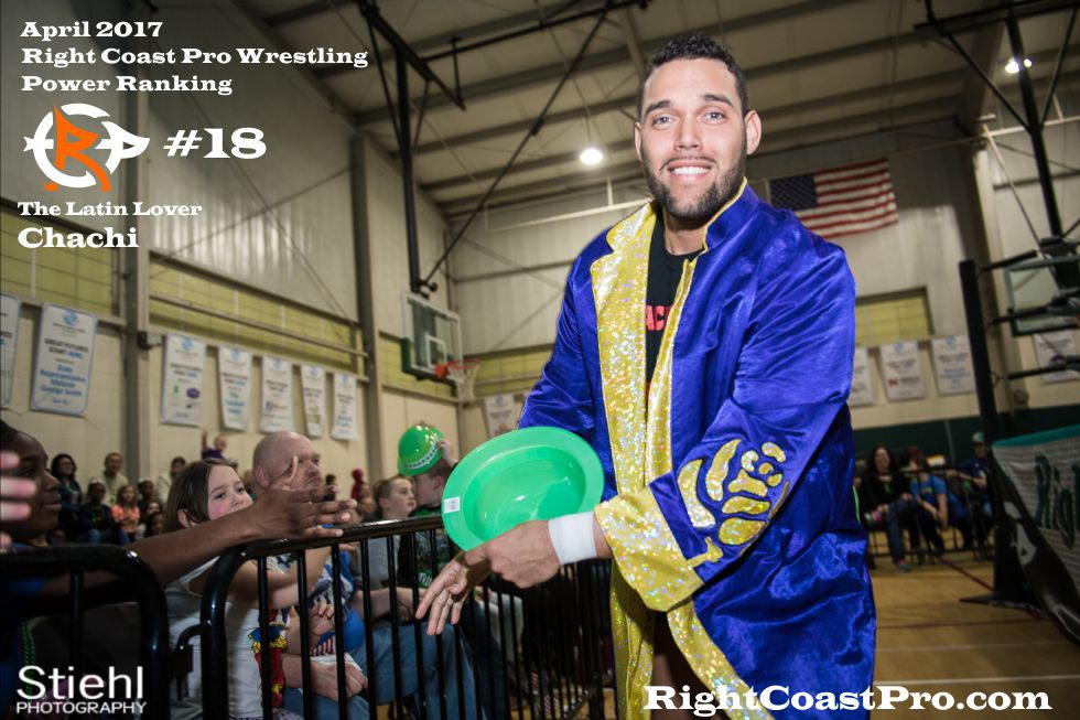 chachi 18 April Delaware Prowrestling ranking