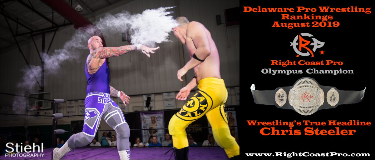 2019 STEELER CHAMPION Rankings August RightCoastPro