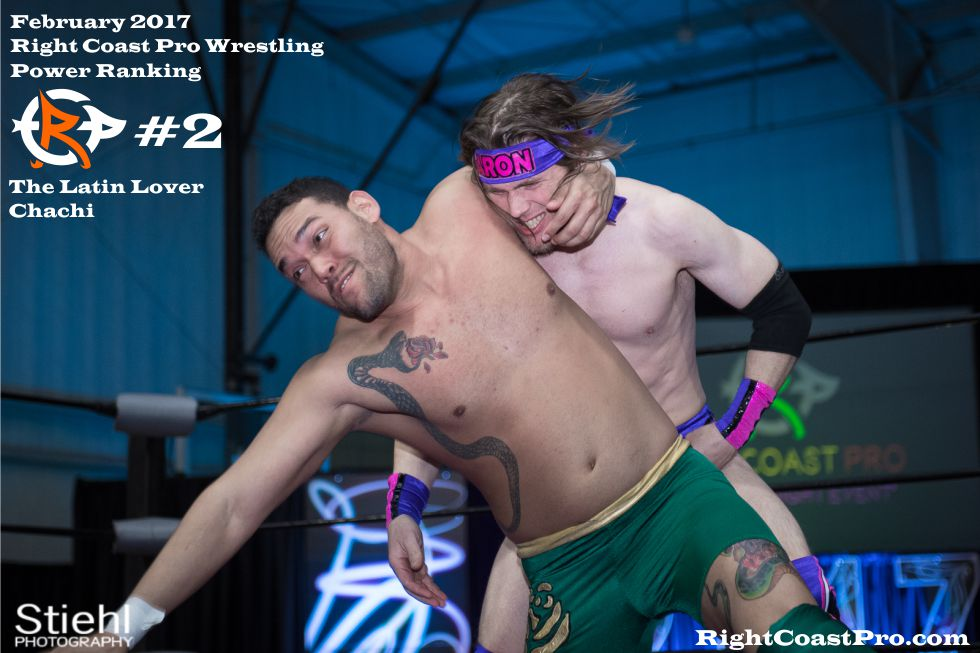 Number 2 February Ranking RightCoast Pro Wrestling Delaware