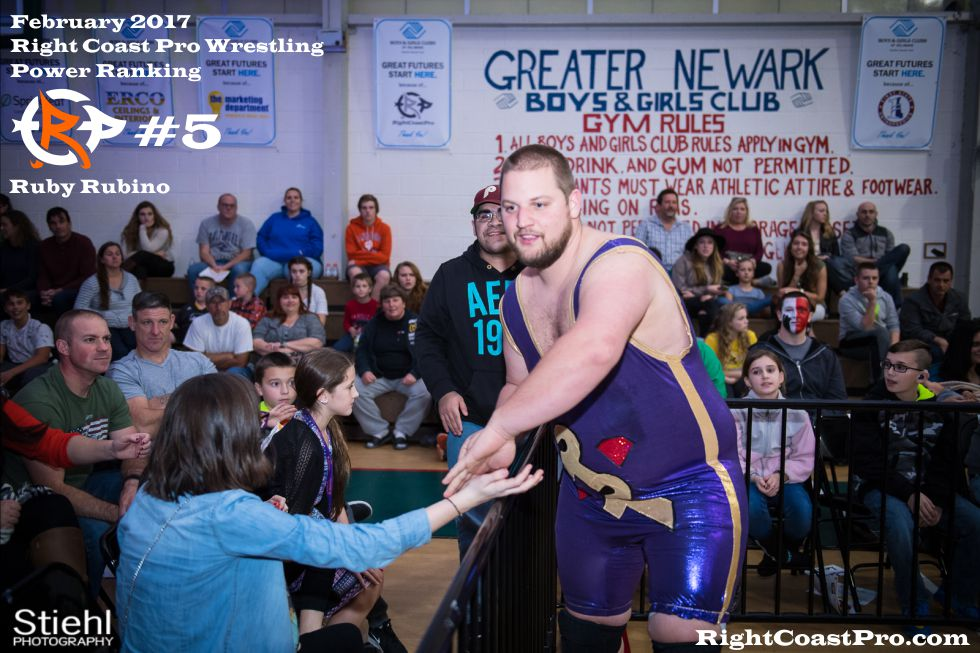 Number 5 February Ranking RightCoast Pro Wrestling Delaware