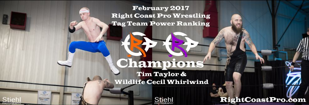 TagTeam Champs February Ranking RightCoast Pro Wrestling Delaware