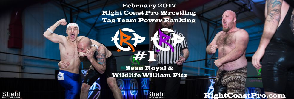 TagTeam Number 1 February Ranking RightCoast Pro Wrestling Delaware