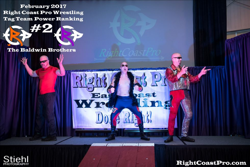 TagTeam Number 2 February Ranking RightCoast Pro Wrestling Delaware