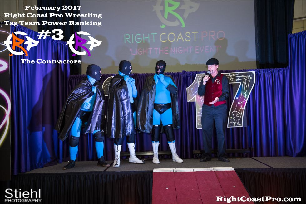 TagTeam Number 3 February Ranking RightCoast Pro Wrestling Delaware