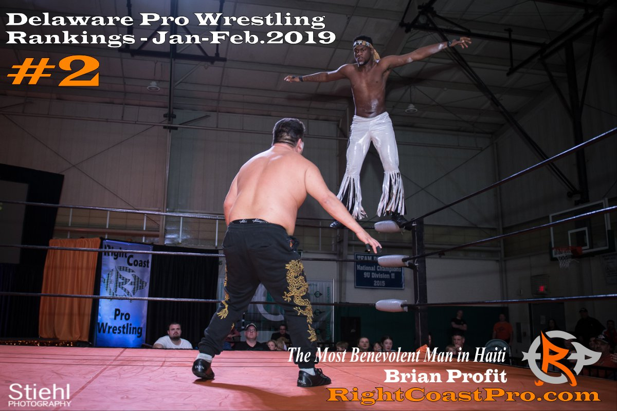 2 2019 ProWrestling Rankings Jan Feb RightCoastPro