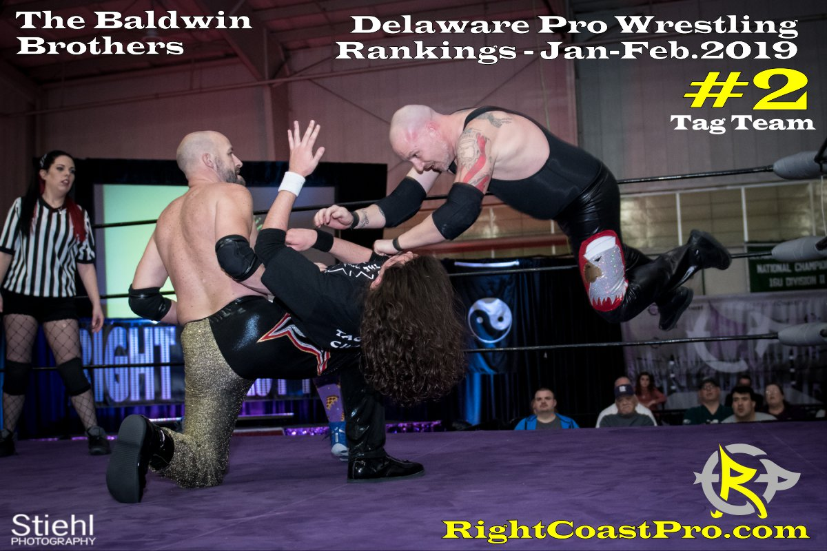 2 tagteam 2019 Rankings January RightCoastPro