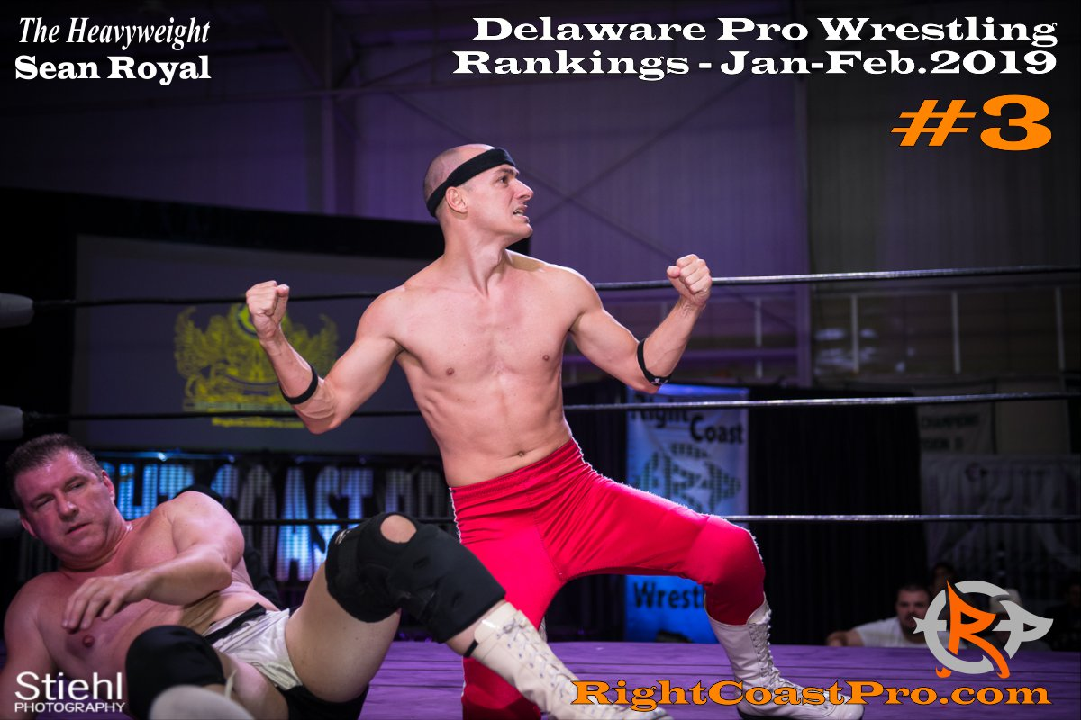 3 2019 ProWrestling Rankings Jan Feb RightCoastPro