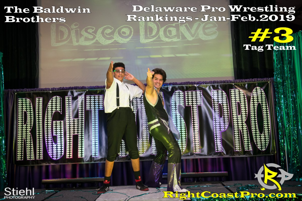 3 tagteam 2019 Rankings January RightCoastPro