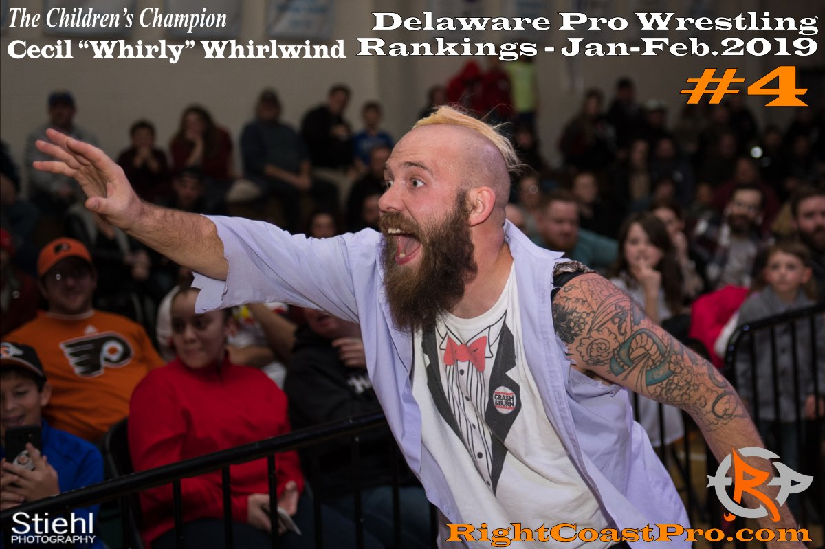 4 2019 ProWrestling Rankings Jan Feb RightCoastPro