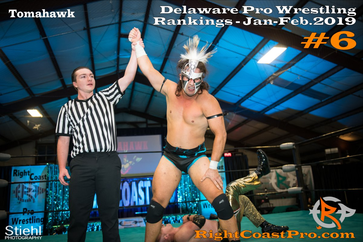 6 2019 ProWrestling Rankings Jan Feb RightCoastPro