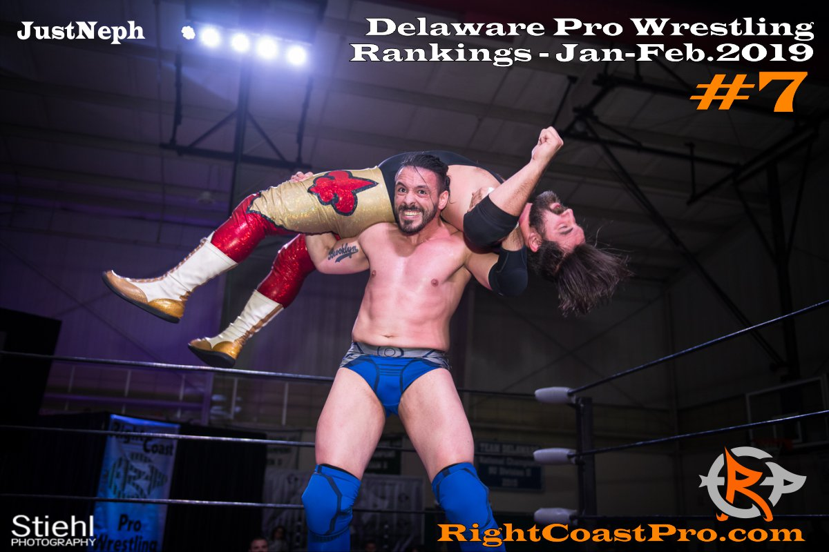 7 2019 ProWrestling Rankings Jan Feb RightCoastPro