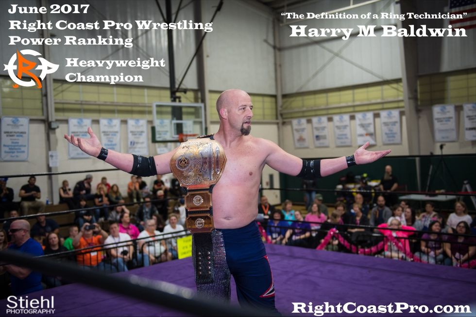 June Delaware Heavyweight Champion ProWrestling HarryBaldwin