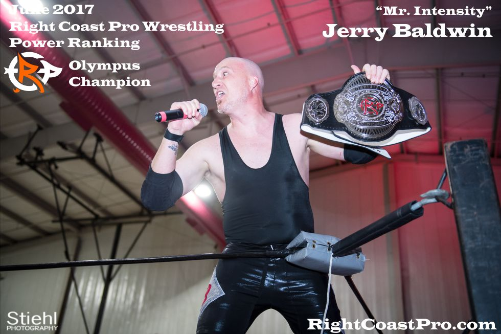 June Delaware Olympus Champion ProWrestling intensity