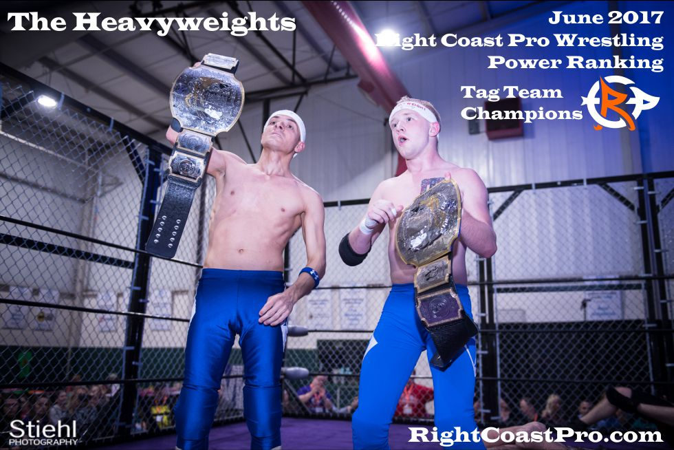 June Delaware TagTeam Champions ProWrestling Heavyweights