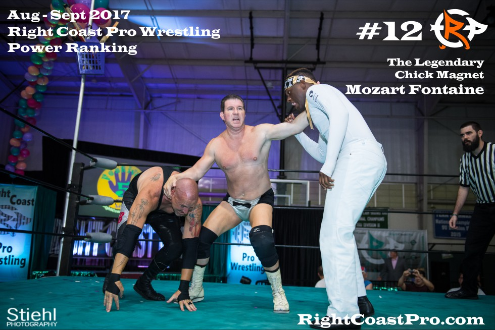 12 MozartFontaine Heavyweights September Delaware Professional Wrestling Rankings