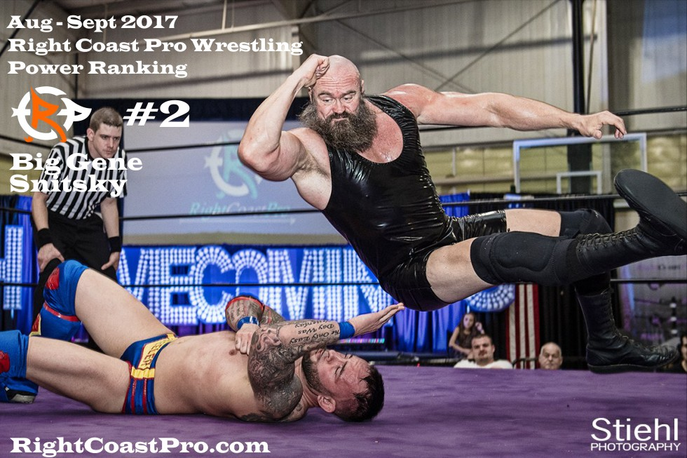 2 GeneSnitsky September Delaware Professional Wrestling Rankings